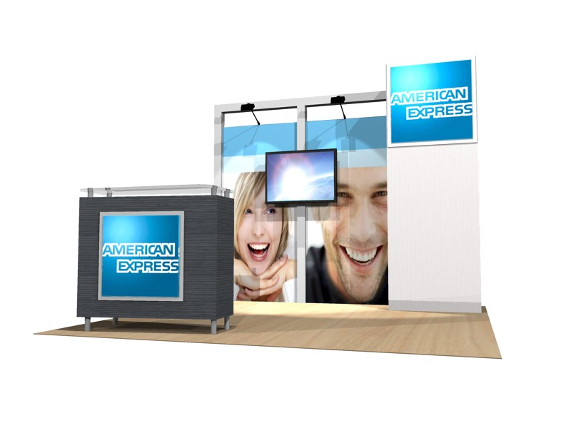 PCG 10.32 10' x 10' Inline Display
