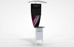 Alumalite Zero Kiosk Display With Ca