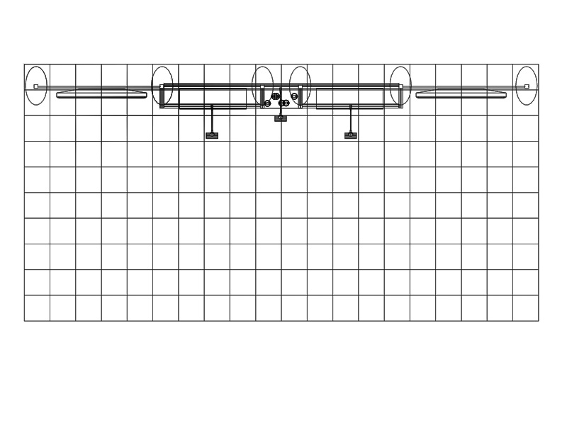 PCG 20.08 10' x 20' Inline Display