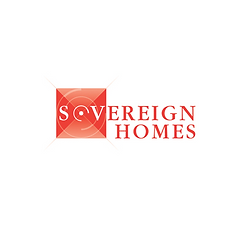 Sovereign Homes Logo Identity