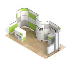 "Triga 20' x 10' Trade Show Booth ""E"""