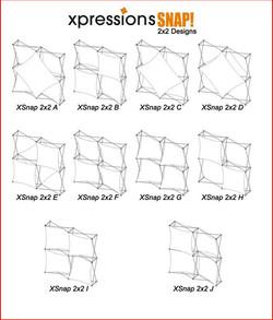 Xpressions SNAP 2x2 configurations