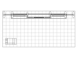 PCG 20.24 10' x 20' Inline Display