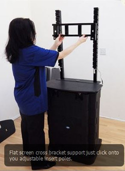 TADD Portable Display Unit LCD Stand