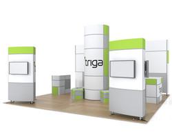 """Triga 20' x 20' Trade Show Booth """"A"""""""