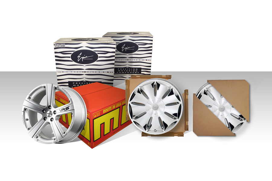 MOMO Wheel Packaging