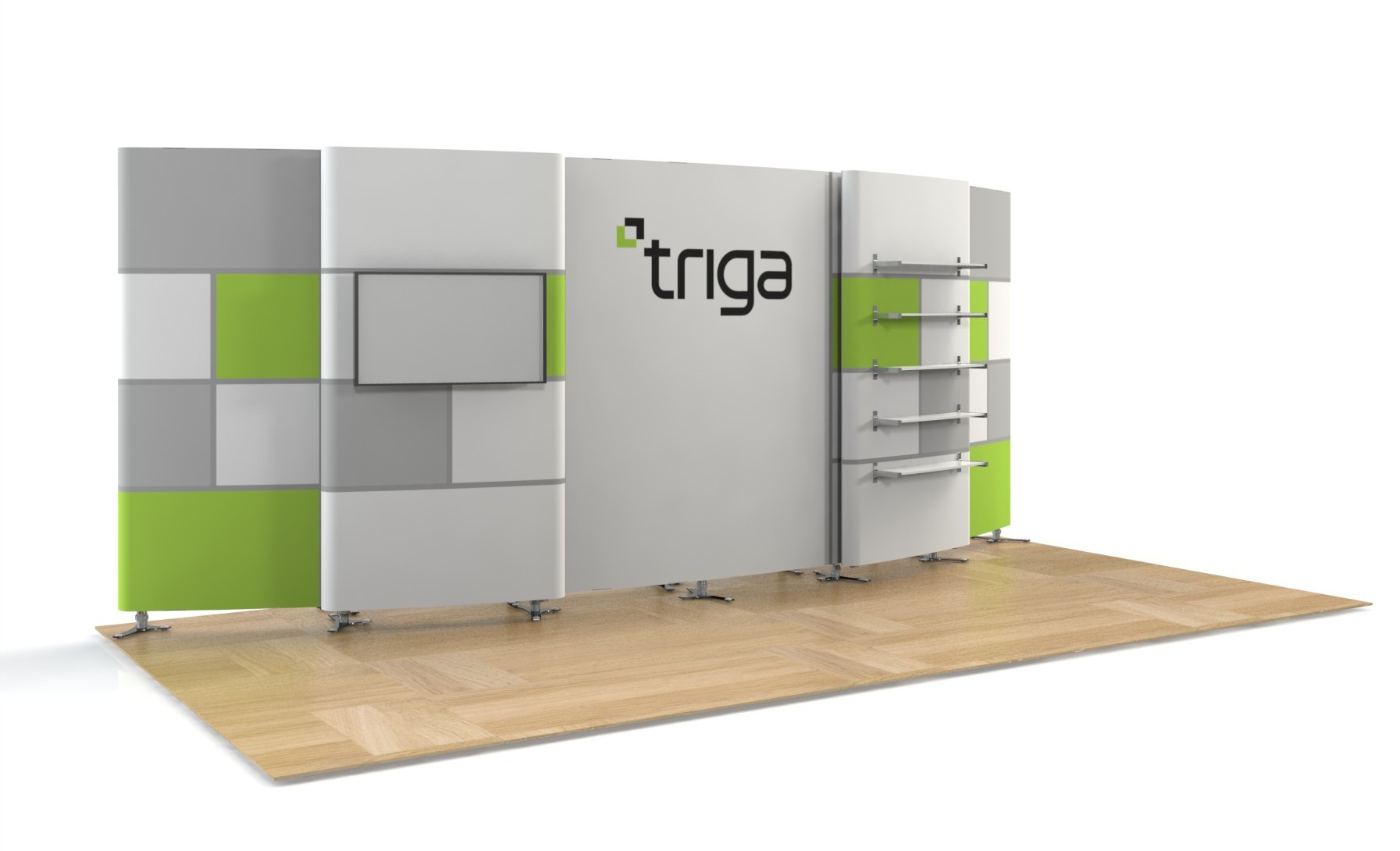"Triga 20' x 10' Trade Show Booth ""G"""