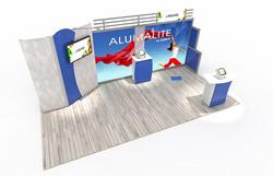 20' AL16 Alumalite Lineare Display