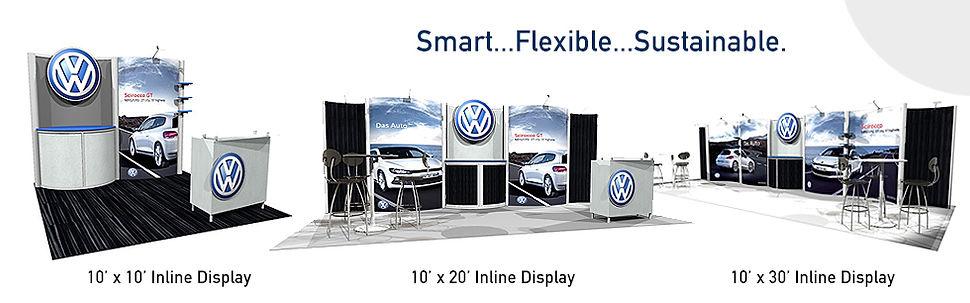 10' x 30' Inline Display Gallery
