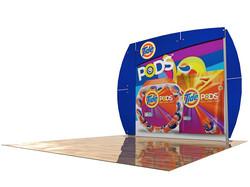 PCG 10.02 10' x 10' Inline Display