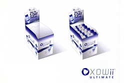 XOWII -Suppliment Shipper & POS