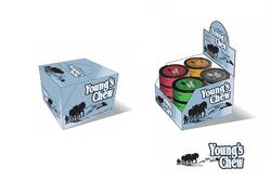 Youngs Chew-Shipper Packaging & POS