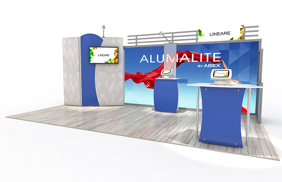 20' AL16 Alumalite Lineare Display