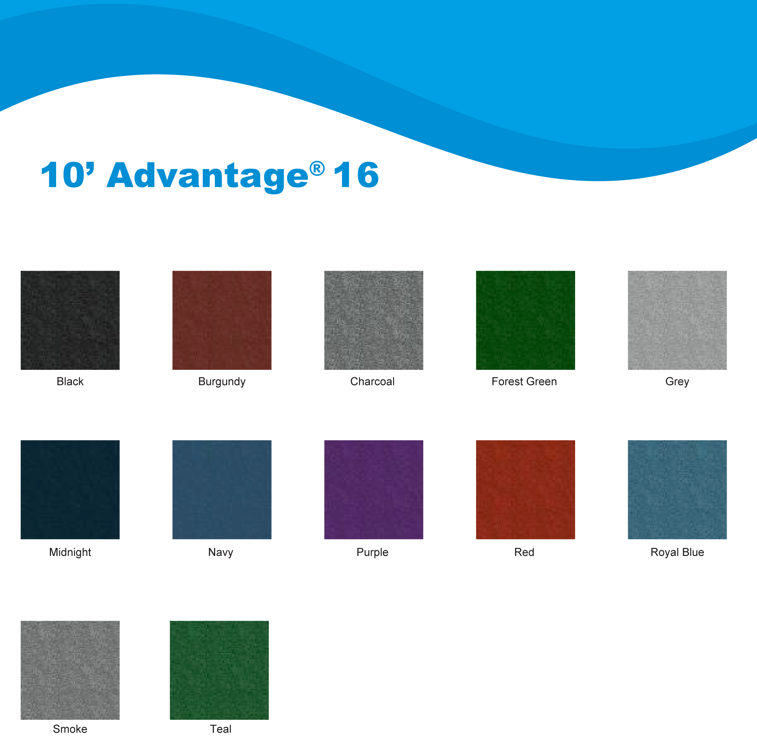 10ft Advantage 16 colors