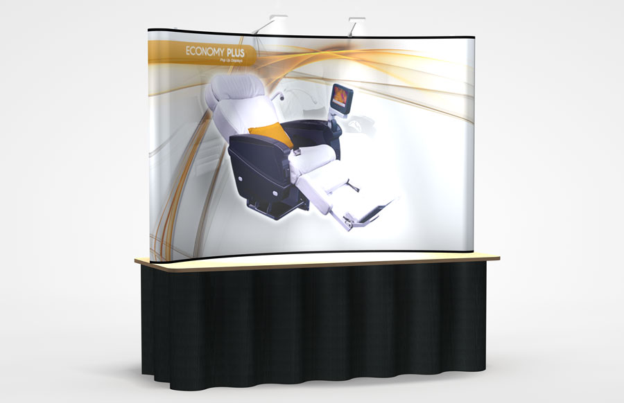 Economy Plus Tabletop Pop-Up Display