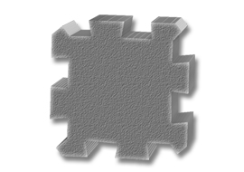 "Comfort Tile 5/8"" High Density Inter"