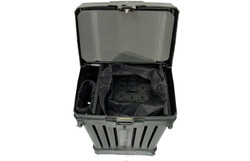 The 4200A rotomolded wheeled case