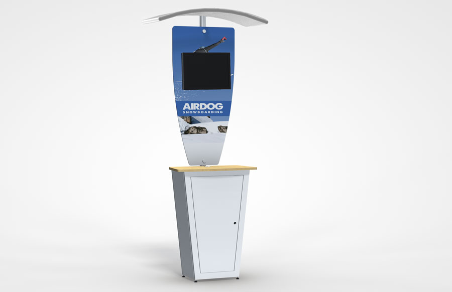 Alumalite Classic Kiosk Display