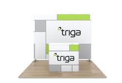 """Triga 10' x 10' Trade Show Booth """"A"""""""