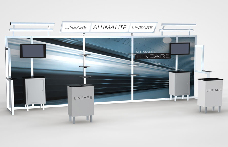 20 Foot Alumalite Lineare Display