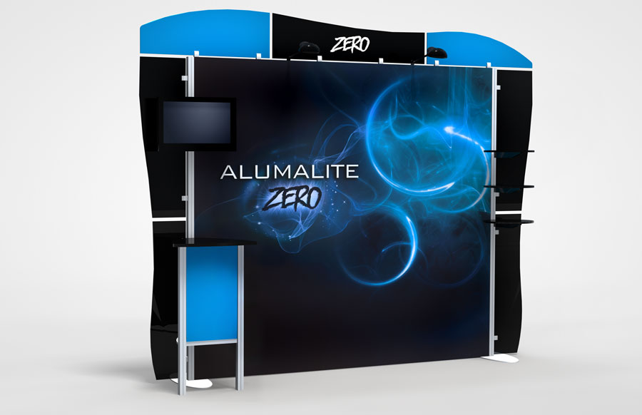 10 Foot Alumalite Zero AZ8 Display