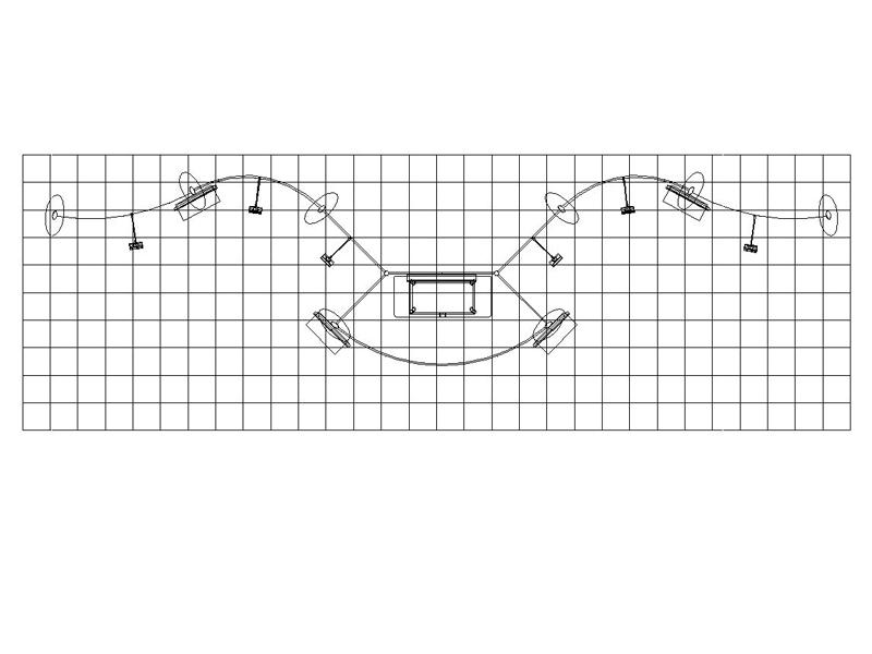PCG 30.02 10' x 30' Inline Display