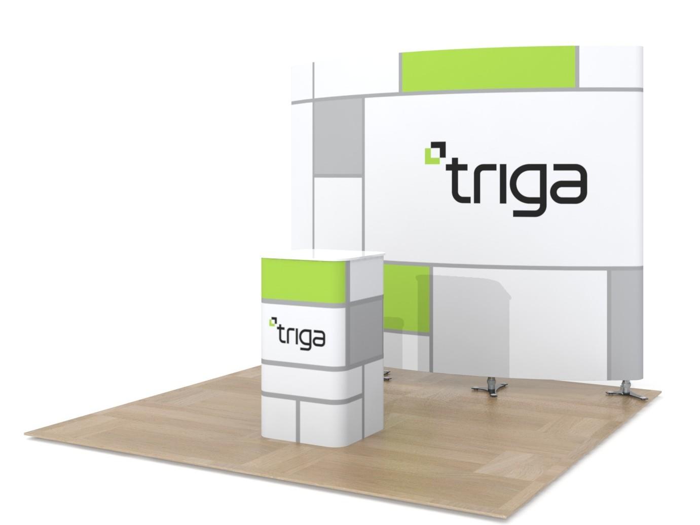 "Triga 10' x 10' Trade Show Booth ""C"""