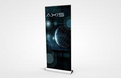 "PCG 850 Retractable Bannerstand 33"""