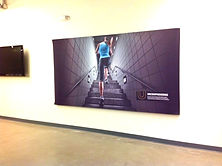 Tension Fabric Wall Mounted Graphics