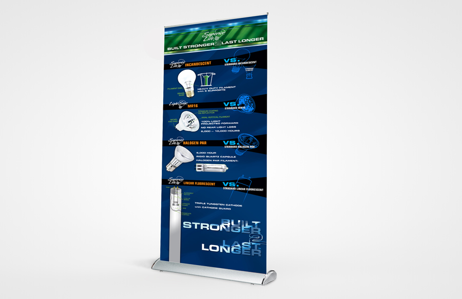 Scroll Slot 1000 Retractable Banners