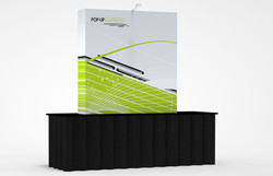 Table Top Straight Pop-Up Display