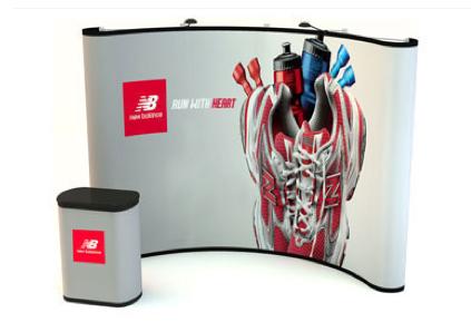 10' Full Graphic Pop-Up Display