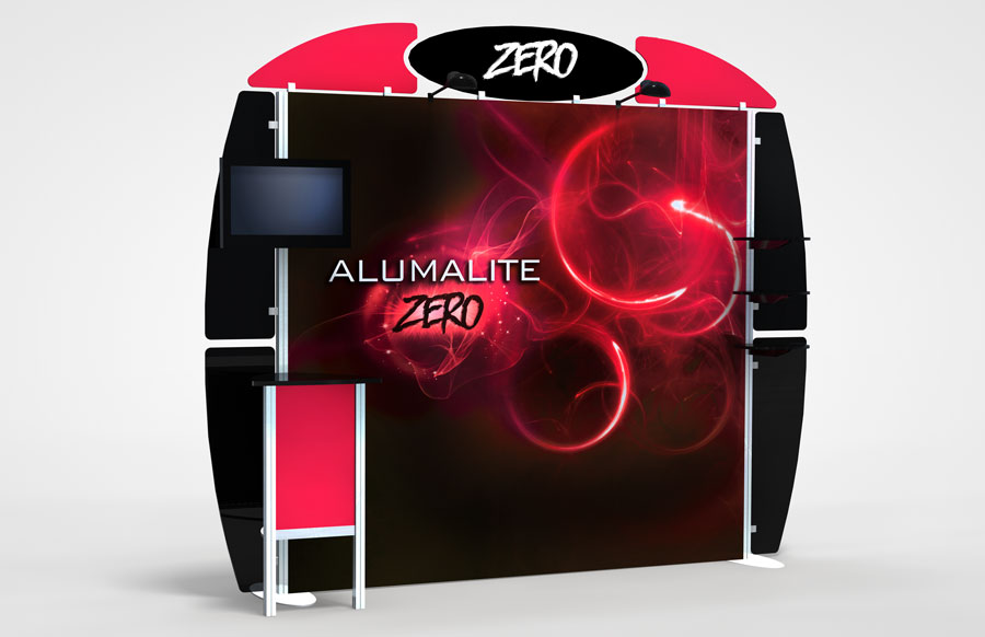 10 Foot Alumalite Zero AZ3 Display