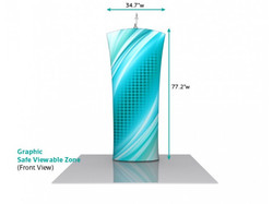 Double sided Fabric Bannerstand 010