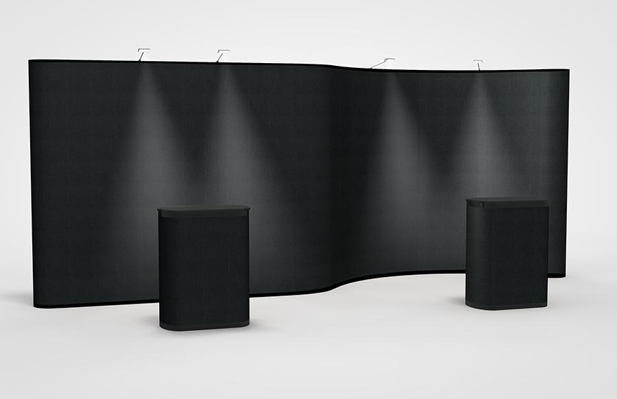 20' Premium Curve/Straight Display