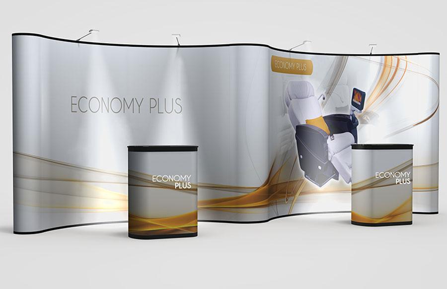 Economy Plus 20' Pop-Up Display