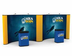 Premium 20 Foot Gullwing Display