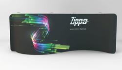 Zippa 20 Foot Serpentine Display