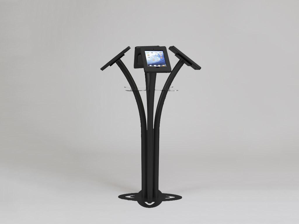 MOD-1338 iPad Kiosk black