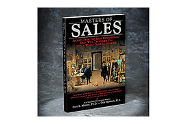 Masters of Sales Book Cover