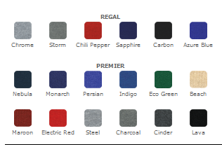 3x3 coyote popup fabric colors_0