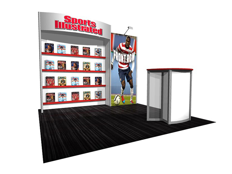 PCG 10.37 10' x 10' Inline Display