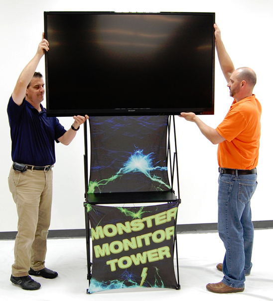 Monster Monitor Tower