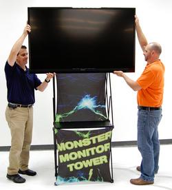 Monster Monitor Tower