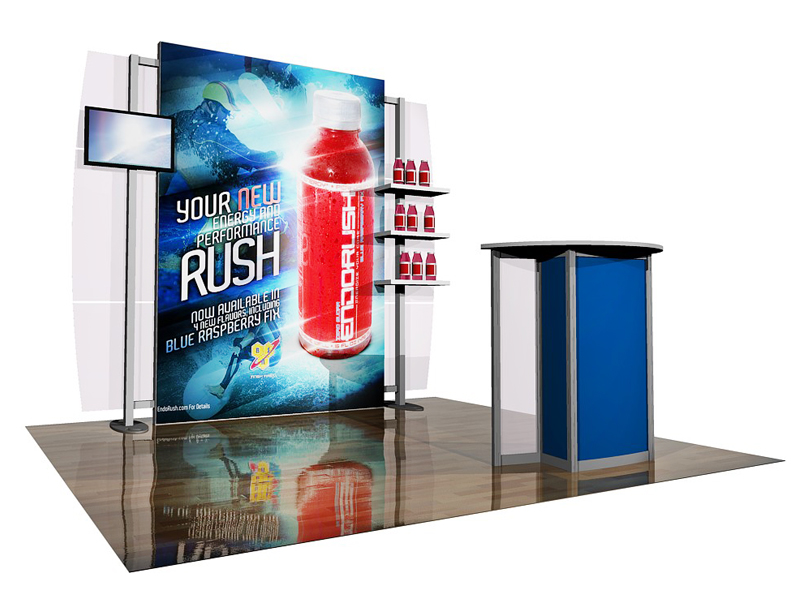PCG 10.23 10' x 10' Inline Display
