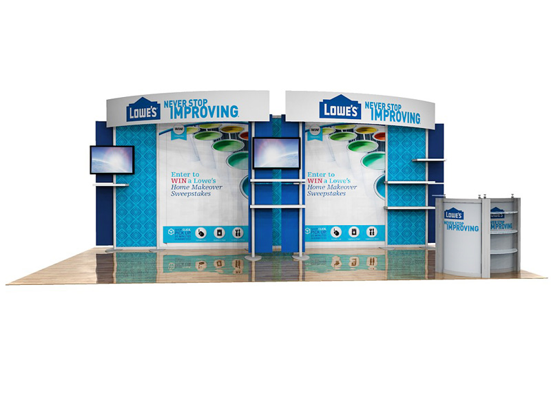 PCG 20.18 10' x 20' Inline Display