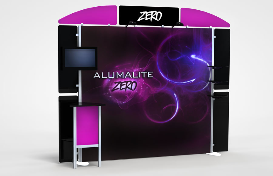 10 Foot Alumalite Zero AZ4 Display