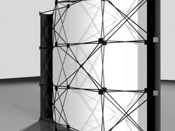 8' Pop-Up Display-Structure