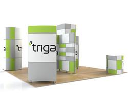 "Triga 20' x 20' Trade Show Booth ""B"""