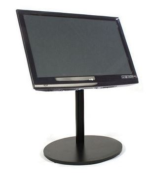 "EZ Stand Short LCD Stand 28""-Black"